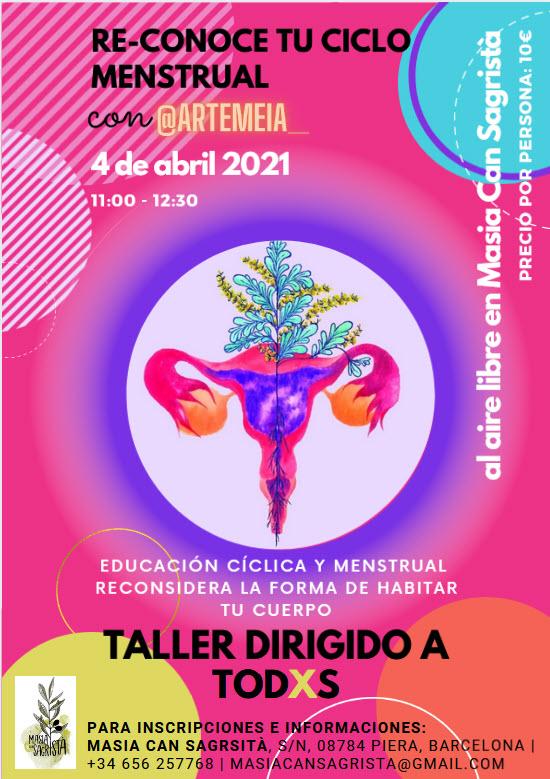 Educación cíclica y menstrual @Masiacansagrista